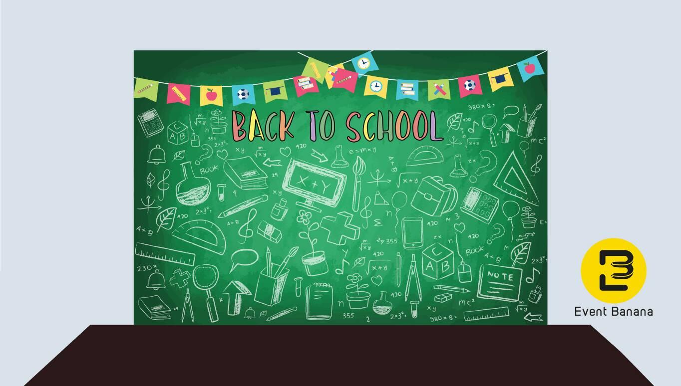 ปาร์ตี้ปีใหม่ 2019 ธีม back to school